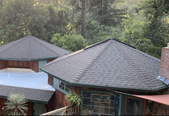 Shingle roof in Santa Cruz California