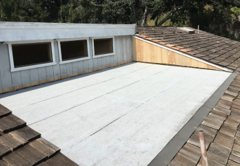 Flat roofing in Santa Cruz area