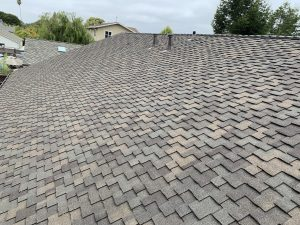 Our roofing company completed this asphalt shingle roof in Capitola Ca