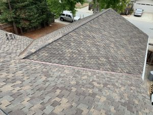 Asphalt Shingle roofing job completed by our Roofing Company Redwood Roofing and Repair in Capitola CA