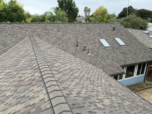 Reroofing job completed by our roofing contractor, Redwood Roofing and Repair, in Capitola Ca