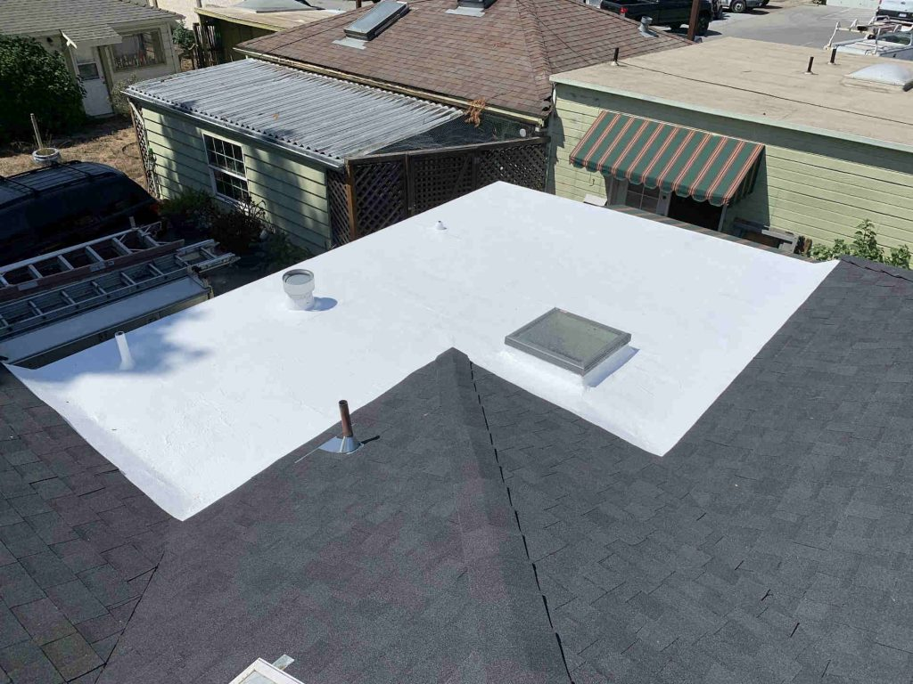 Commercial and Residential roof installation by local roofing contractor in Santa Cruz CA