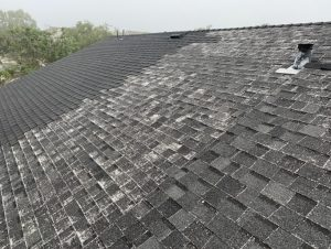 Examples of three composite shingle roofs installed by various roofing contractors and how they wear over time in Santa Cruz County California